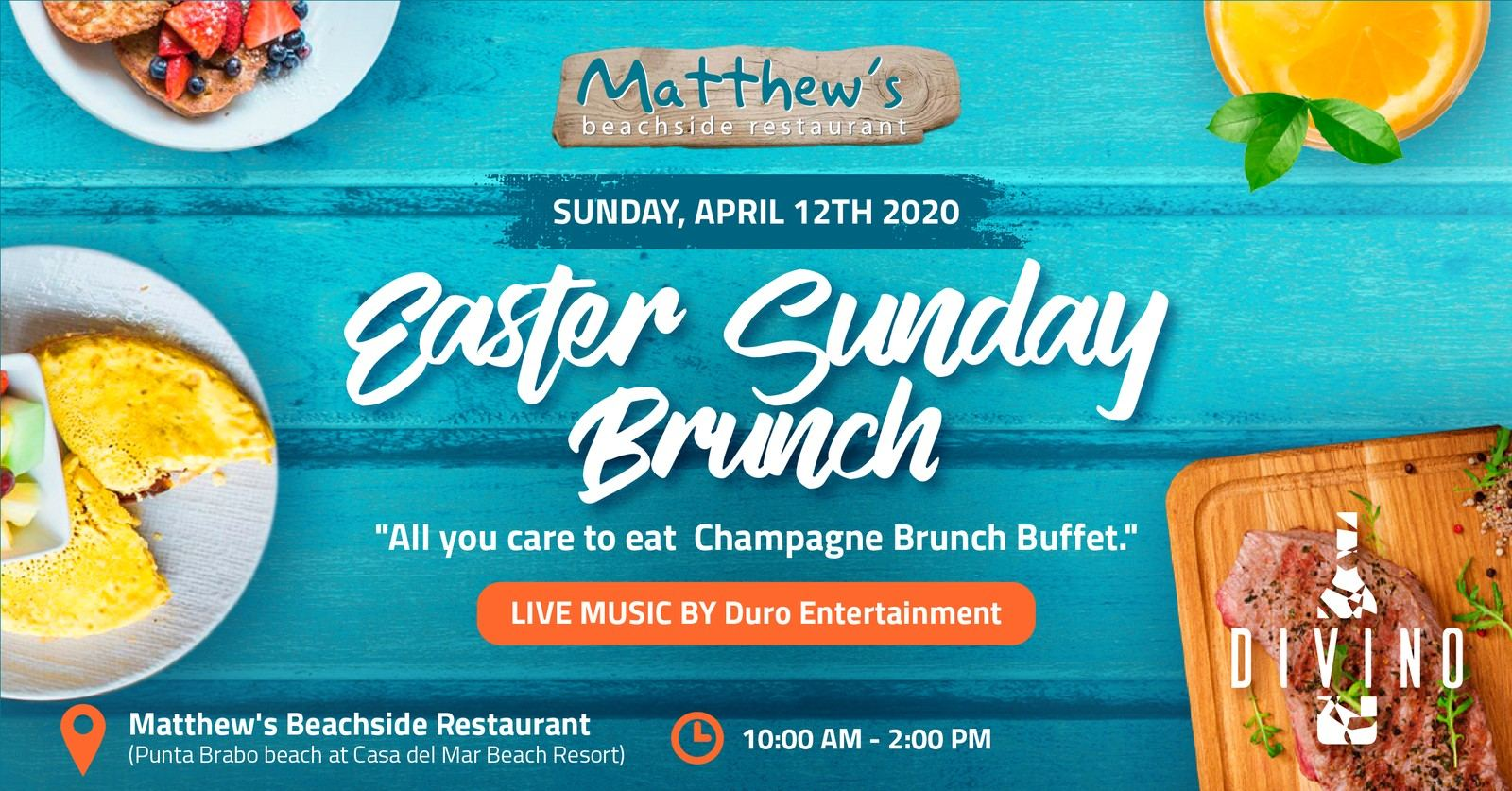 Easter Sunday Brunch at Matthews