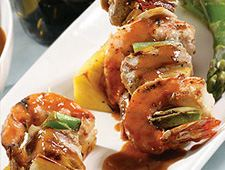 Pinchos di Cabaron (Shrimp Kebabs)