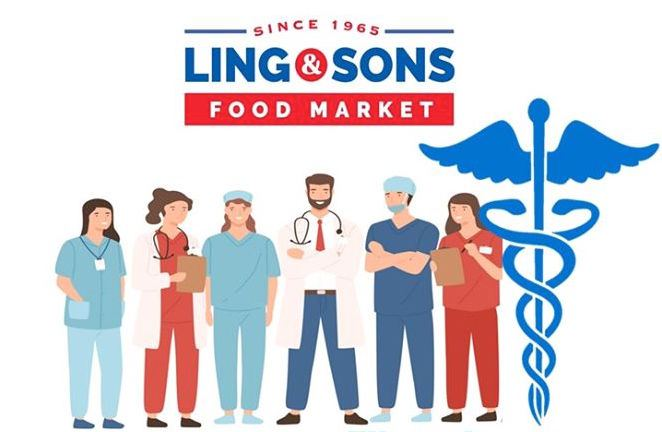 Ling & Sons Discount for Healthcare Workers