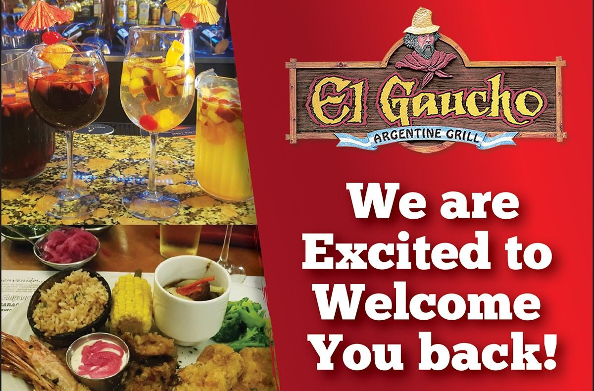 Welcome Back Special at El Gaucho
