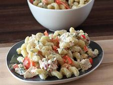 Shrimp, Tuna and Macaroni Salad