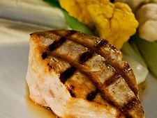 Antillean-Style grilled Swordfish or Shark