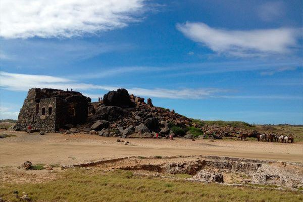 Gold Mine Ruins at Bushiribana
