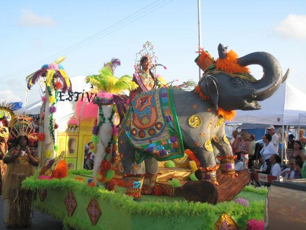 Aruba Carnival India Theme