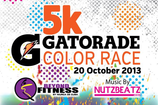 5K Gatorade Color Race
