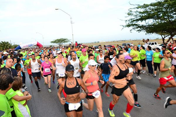 Aruba Bank 4 DAY Walk / Run