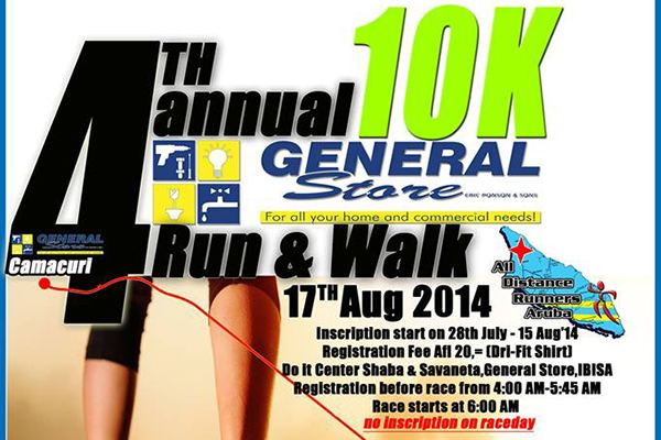 4th General Store 10K Run & Walk