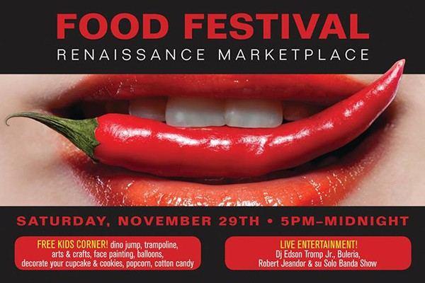 food festival at Renaissance Marketplace