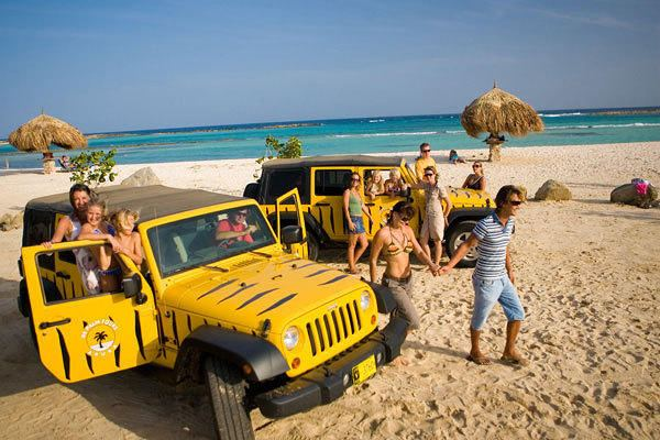 De Palm: Baby Beach Jeep Adventure