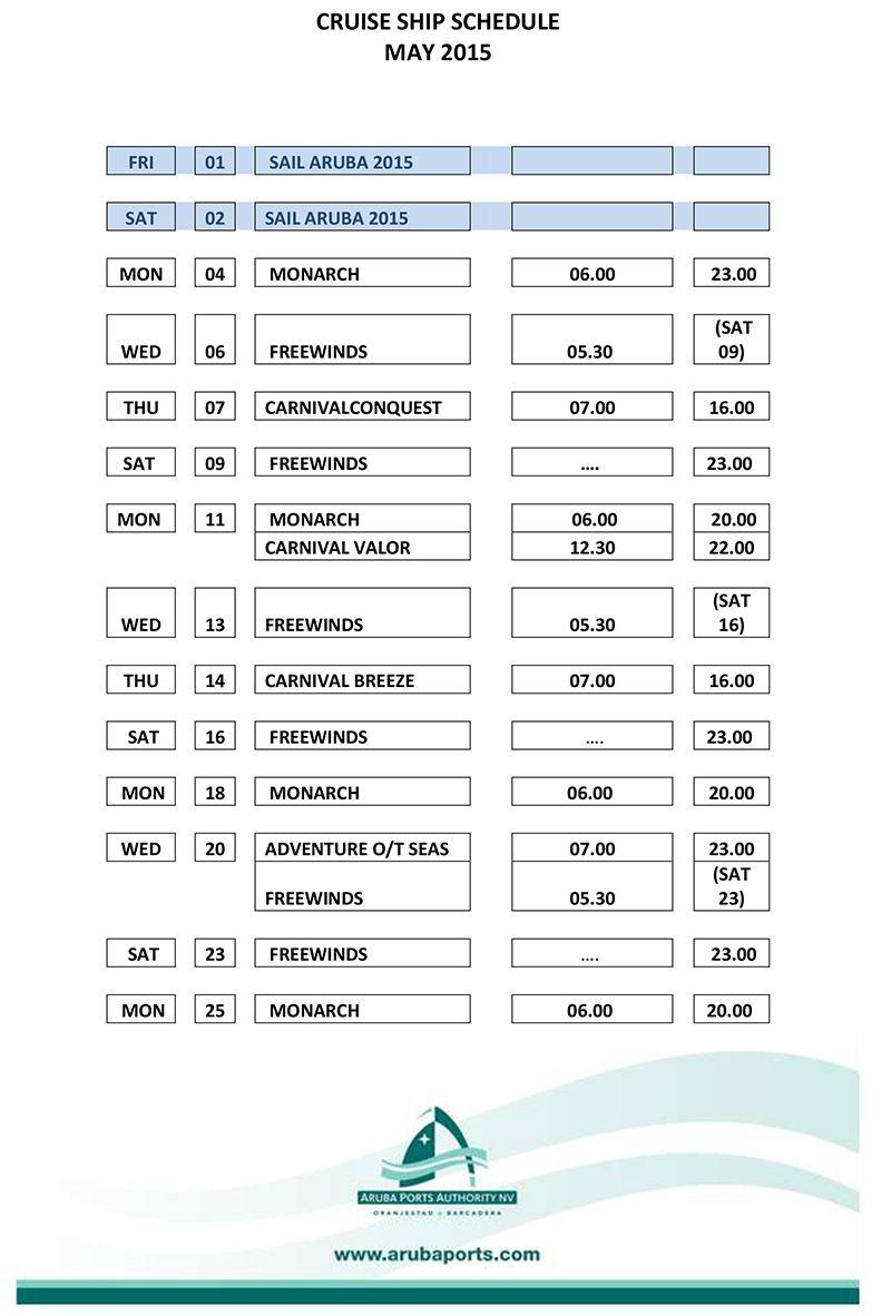 Port Cruise Ship Schedules Fitbudha Com