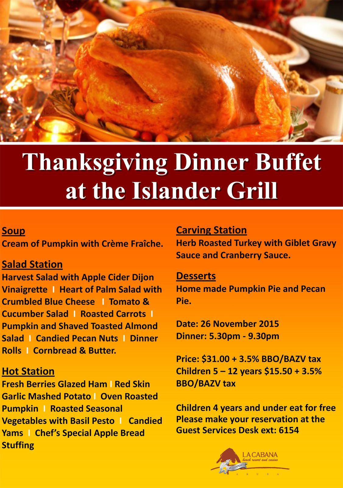 Aruba restaurants aruba restaurants thanksgiving day for Fast food places open on thanksgiving