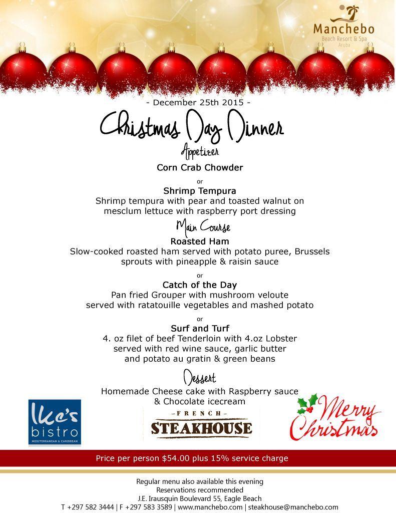 Aruba La Vista Restaurant Christmas 2020 VisitAruba.| Christmas Specials